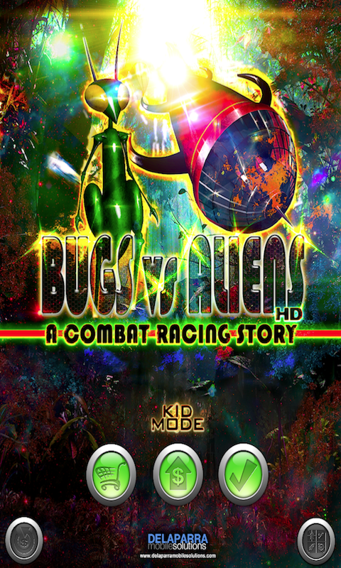 BUGS VS ALIENS SCREEN 1