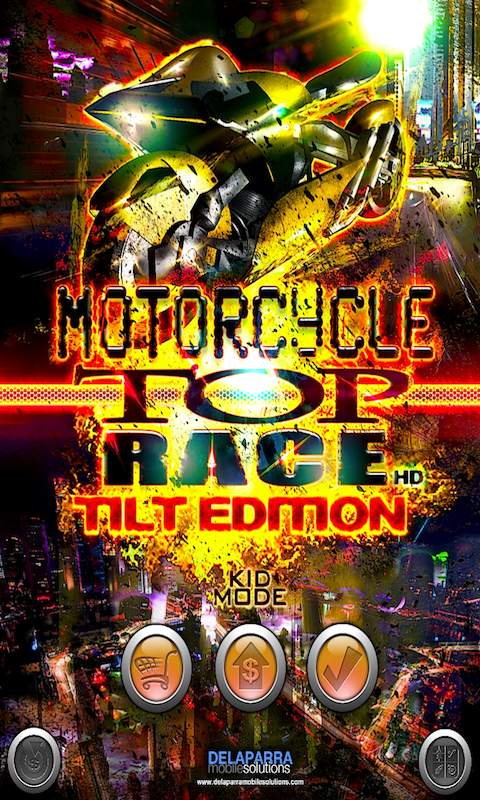 MOTOCYCLE TOP RACE SCREEN 1