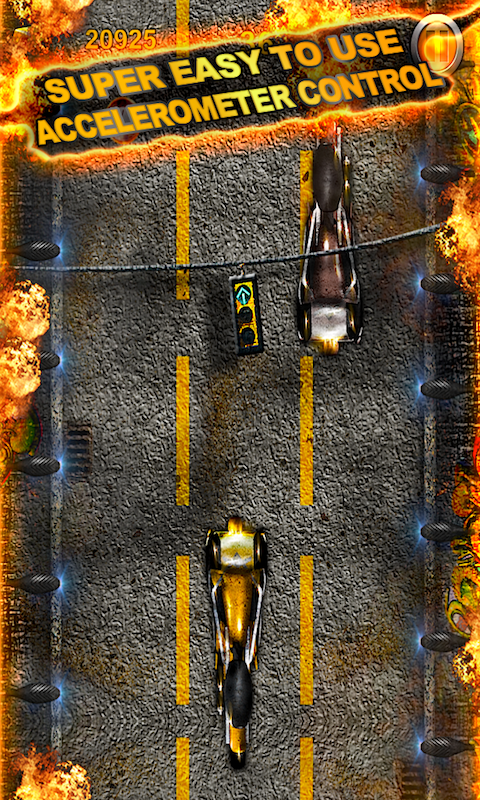 MOTOCYCLE TOP RACE SCREEN 4