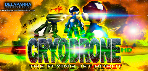 Cryodrone : The Flying Jet Robot (Shooter Game)