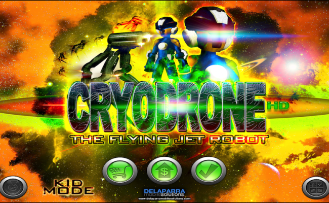 CRYODRONE SCREENSHOTS IPHONE 1.1