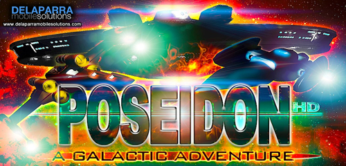 POSEIDON : Space Wars Galaxy Fighter (A Galactic Adventure)