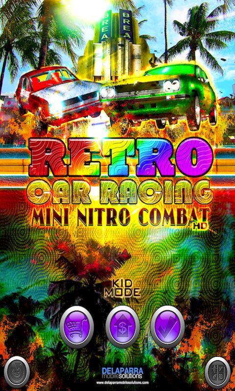 RETRO CAR RACING SCREEN 1