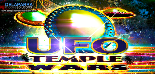 UFO TEMPLE WARS : Underground Battle (Shooter & Racing)